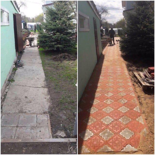 Укладка тротуарной плитки Щелково и Щелковский районе