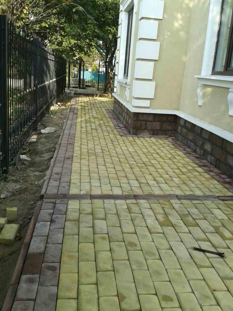 Укладка тротуарной плитки в Щелково и Щелковский районе